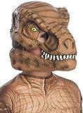 Rubie's Jurassic World: Fallen Kingdom Tyrannosaurus Rex - Maschera da dinosauro con mandibola mobile, taglia unica