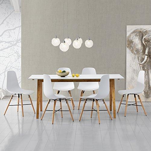 [encasa] Design Esstisch  6 Stühlen kaufen  Bild 1*