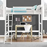 Dorel Living Wood Loft Style Bunk Bed, Twin