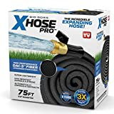 Xhose Pro DAC-5 High Performance Lightweight Expandable Garden Hose with Brass Fittings (75 Feet)