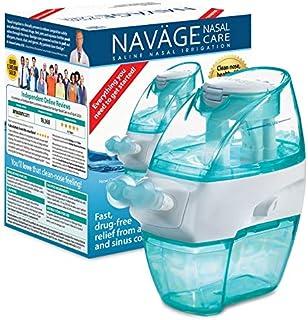 Sponsored Ad - Navage Nasal Care Starter Bundle: Navage Nose Cleaner and 20 SaltPod Capsules Plus Eucalyptus 2-Pack Sampler