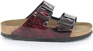 d663101c2308 Birkenstock Arizona Soft-Footbed Womens Slides Red EU 37 - US L6 M4