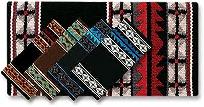 بطانية Mayatex Mojave Saddle Blanket, Chestnut/Tan/Turquoise/Teal/Ocean Blue/Cream