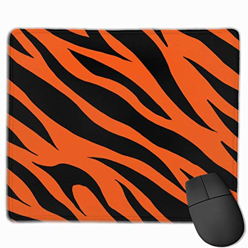Orange Tiger Fur Skin Texture Mauspad, Antique Slip Mouse Mat für Desktops, Computer, PC und Laptops, Customized Mousepad