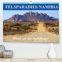 Felsparadies Namibia - Rund um die Spitzkoppe (Premium, hochwertiger DIN A2 Wandkalender 2022, Kunstdruck in Hochglanz): Ein Naturerlebnis der besonderen Art, die Felsformationen der Spitzkoppe (Monatskalender, 14 Seiten )