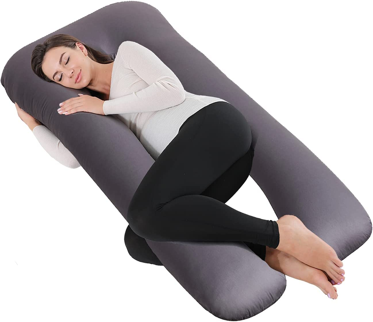 Bedbee Pregnancy Pillow Removable Cover Premium Over item handling Shaped Matern Louisville-Jefferson County Mall U