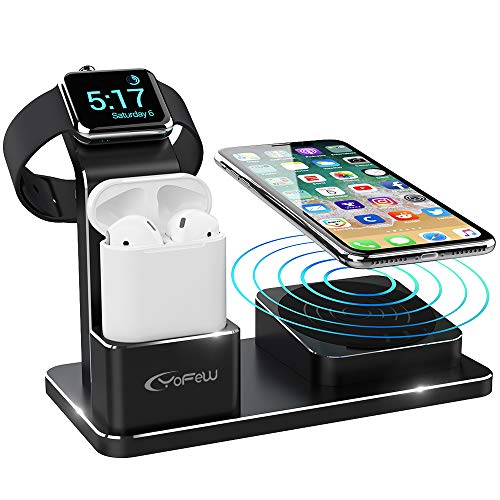 YoFeW Charging Stand for Apple Watch, iPhone and AirPods