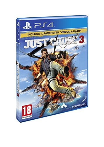 Square Enix Just Cause 3 Day One Edition, PS4 Básico PlayStation 4 vídeo - Juego (PS4, PlayStation 4, Acción, M (Maduro), Soporte físico)