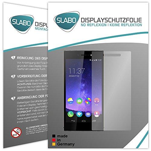 Slabo 4 x Bildschirmschutzfolie für Wiko Highway Star 4G LTE Bildschirmfolie Schutzfolie Folie Zubehör No Reflexion MATT