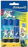 Pelikan 339065 Design-Klebestift PELIFIX, 3 x 10 g im Multipack