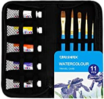 AUREUO Watercolor Paint Set With Carrying Case