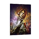 baozou Neil Young II Poster, Motiv: berühmter Gitarristen,