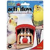 JW Pet Company Activitoys Birdie Bowling Bird Toy