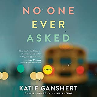 No One Ever Asked                   By:                                                                                                                                 Katie Ganshert                               Narrated by:                                                                                                                                 Jorjeana Marie                      Length: 12 hrs and 51 mins     100 ratings     Overall 4.5