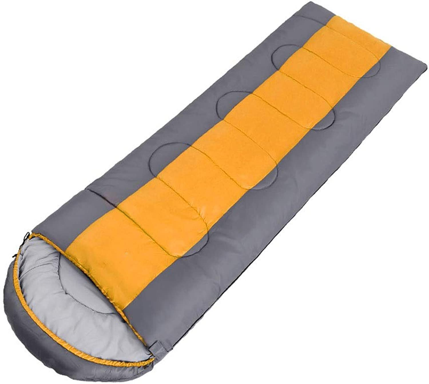 Upgrade can be Stitched to Reach The Sleeping Bag Adults Outdoor Travel Camping Spring and Summer Thick Warm Men and Women Office Lunch Break Indoor Adult Sleeping Bag