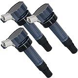 新品 ダイハツ用 イグニッションコイル 3本セット 4ピン L650S L550S 純正品番 19070-97207 互換品ec-9-3