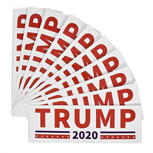 Pandiki 10pcs Donald Trump 2020 Autoaufkleber Halten Make Amerika Autoaufkleber, Trump Große Aufkleber Auto-LKW-Autoaufkleber