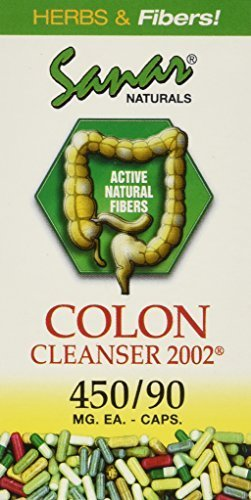 Sanar Naturals Colon Cleanser 2002 Dietary Supplement 450 mg Capsules Capsules by Sanar Naturals