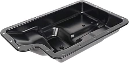 TUPARTS Engine Oil Pan for Ford E-150 E-250 E-350 F-150 F-250 96 97 98 99 00 01 02 03 04 05 Engine Oil Drain Pan 4.2L 4.6L 4.9L 5.0L 5.4L with OE 265-805 Oil Drip Pan Oil Change Pan