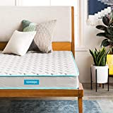 """Your purchase includes one Linenspa 6-inch innerspring mattress, in twin size Item's dimensions: 39"""" W x 75""""L x 6""""H. Feel: Firm Fits box springs, slatted/platform bed frame and metal grids Remove packaging within 72 hours, and allow an extra 48-72 ho..."""