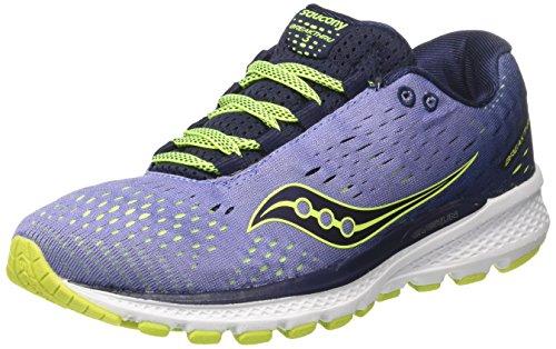 Saucony Breakthru 3, Zapatillas de Running para Mujer, Morado (Purple/Navy), 38 EU