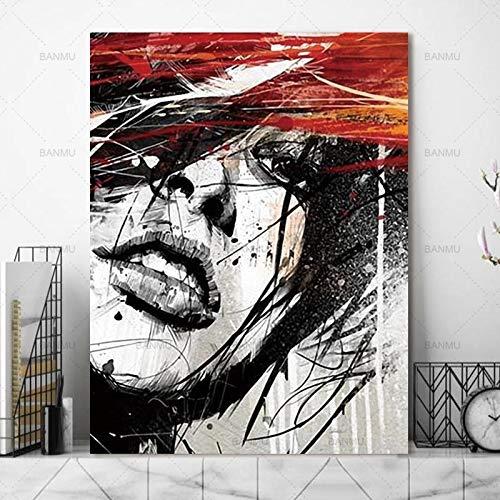 baodanla Keine Bilder von Clowns, Leinwand-Wand in Leinwand-Öl, Druckerei, Schultapete60x90cm