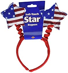 Patriotic Star Boppers Party Accessory