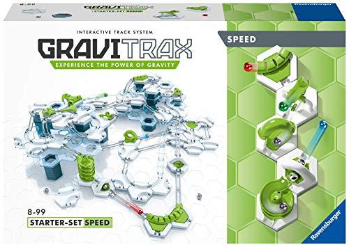 Ravensburger Gravitrax StarterSet Speed 27412, Gioco di Costruzioni STEM, 1+ Giocatori, per Bambini e Bambine a Partire da 8 Anni