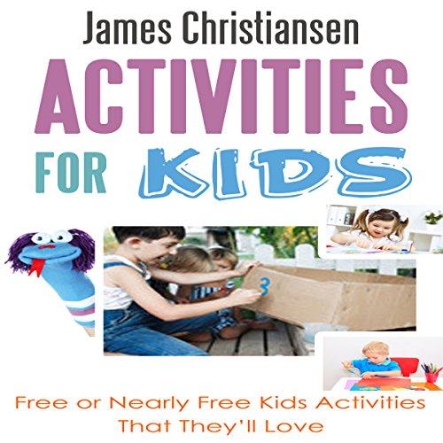 Activities for Kids audiobook cover art
