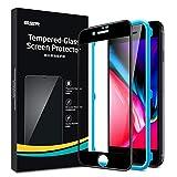 ESR Protector de Pantalla para iPhone 8/7/6s/6 [1 Unidad][Cobertura Pantalla Completa][Cristal Curvado 3D][Cristal Templado Premium]para iPhone 8/7/6s/6, Negro