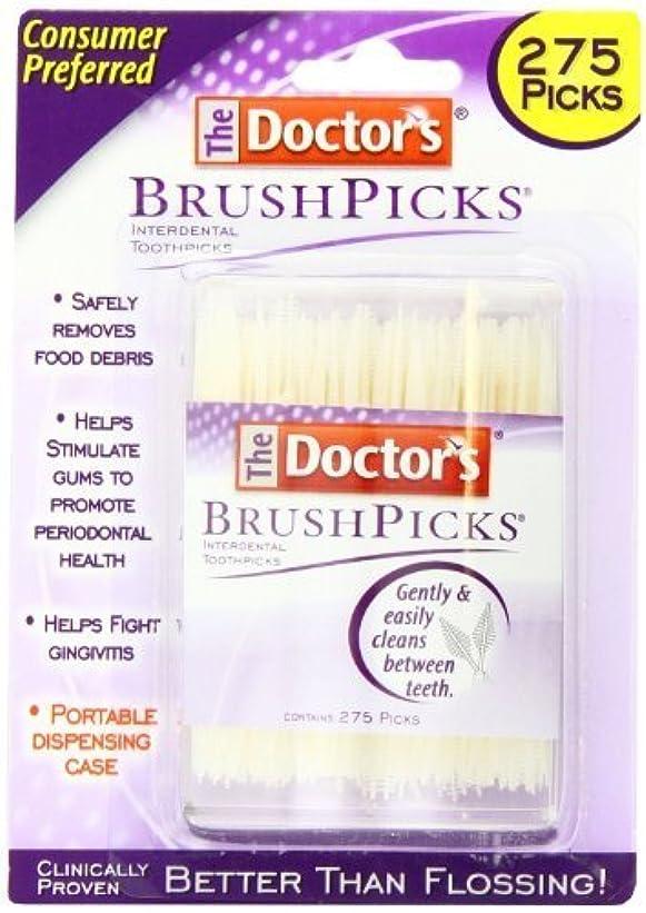 問題億同時ドクターズ ブラシピックス 275カウント x 2パック Doctor's Brushpicks, 275 Count (Pack of 2) by The Doctors [並行輸入品]