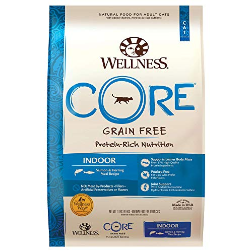 Wellness CORE Grain Free Indoor Formula Salmon and Herring dry cat food