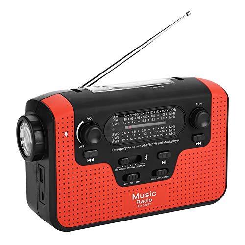 Radio de Emergencia FM/Am/SW, Altavoz de...