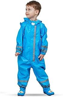 49d0b57d1d Tuta da pioggia per bambini impermeabile a pozzanghere Tuta da bambina  all-in-one