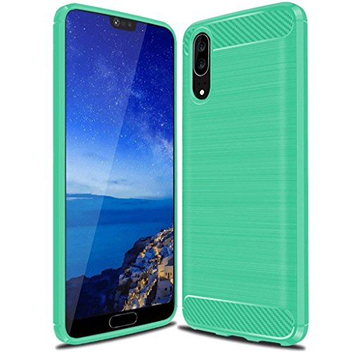Suensan Huawei P20 Case, NOT for Huawei P20 Plus, TPU...