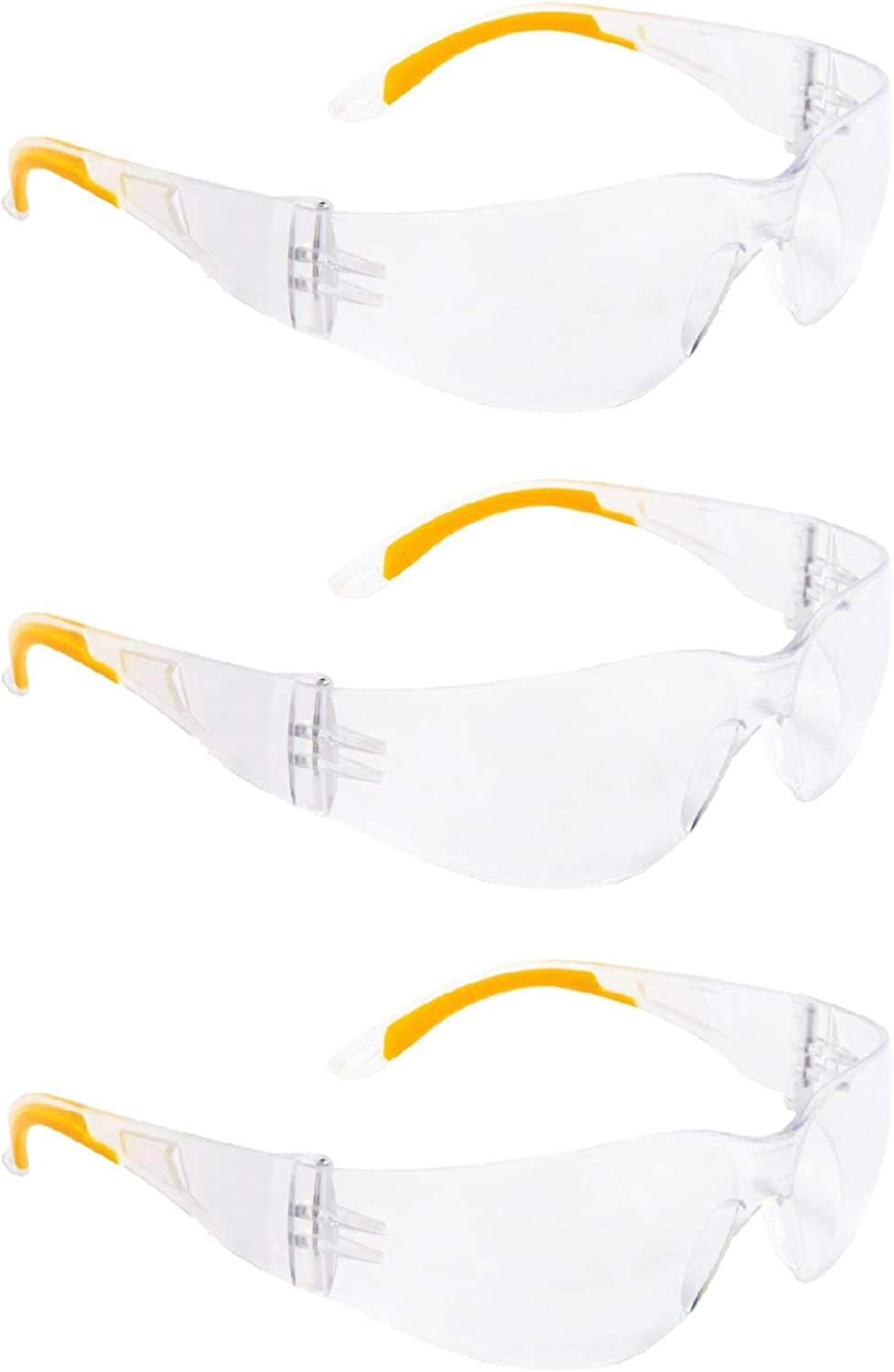 ROAR Safety Glasses Clear Bombing new work Anti-Fog Impact Protectio UV Max 57% OFF Resistant