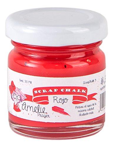 Amelie Prager AMC-51 Pintura a la Tiza, Rojo, 30 ml