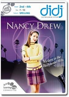Leapfrog Didj Custom Learning Game Nancy Drew - Mystery In The Hollywood Hills