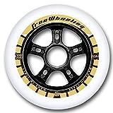 FreeWheeling 4-Pack Roues de Roller Race 100mm 85A 1117389