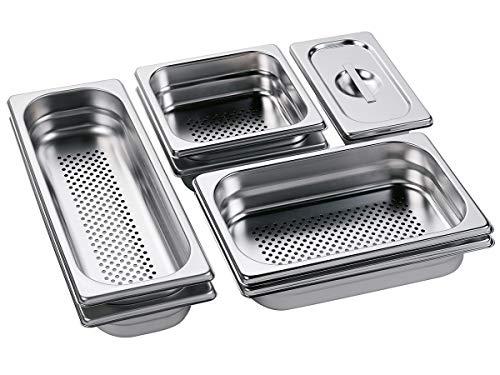 AEG Behälter-Set für Dampfgarer, Edelstahl