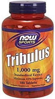 مكمل تريبولوس الغذائي من اطعمة ناو خاص بالرياضات، 1000 مغ، 180 قرص