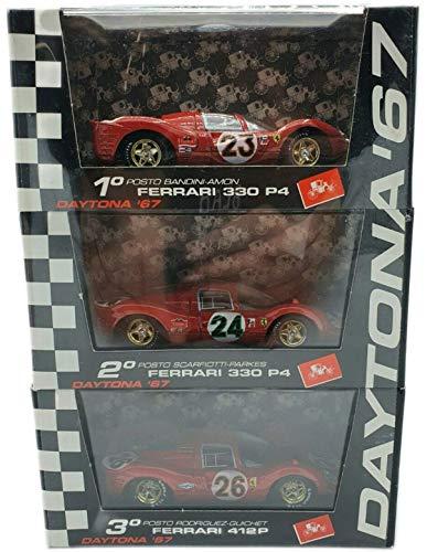 Brumm PLTS Set Modellini Ferrari 330 P4 / Ferrari 412 P - 3pz Scala 1:43 S026.