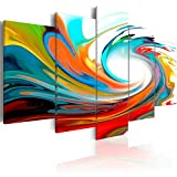 murando Quadro 200x100 cm 5 Pezzi Stampa su Tela in TNT XXL Immagini Moderni Murale Fotografia Grafica Decorazione da Parete Astratto 020101-233