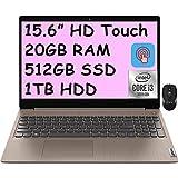 2021 Flagship Lenovo Ideapad 3 15 Laptop 15.6' HD Touchscreen Display 10th Gen Intel Core i3-1005G1 (Beats i5-8250U) 20GB DDR4 512GB SSD 1TB HDD Dolby HDMI Webcam WiFi Win 10 + iCarp Wireless Mouse
