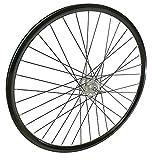 Rodi Rueda trasera Freeway 28 x 1 5/8 x 1 3/8, freno de rodillo de aluminio, color negro