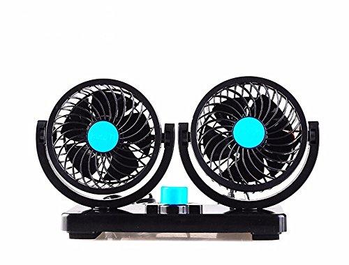 JISHUQICHEFUWU Ventilateur de Voiture 12V/Ventilateur Automatique/Fournitures d'été Auto