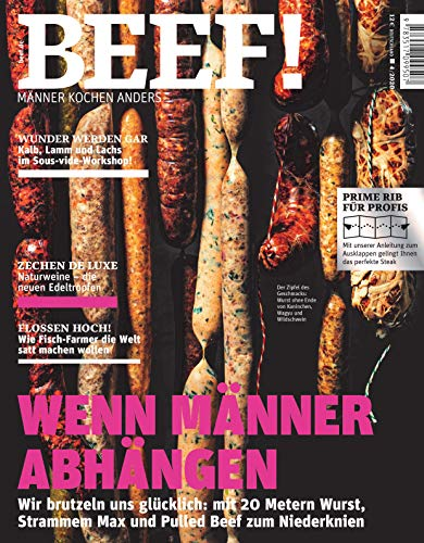 BEEF! Nr. 58 (4/2020): Männer kochen anders