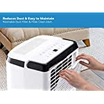 Honeywell Basement & Small Room Up to 1000 Sq. Ft, TP30AWKN Smart Wi-Fi Energy Star Dehumidifier, 30 Pint, White 20 POWERFUL DEHUMIDIFIER FOR ROOMS UP TO 4000 SQUARE FEET: This powerful beast effectively removes up to 70 pints of moisture from the air (50-Pint 2019 DOE Standard) to protect walls, curtains, furniture and appliances from excess household moisture. Ideal for large basements, living rooms, cellars, and storage rooms. PEACE OF MIND WITH A BRAND YOU TRUST: Honeywell Dehumidifiers are top rated by an independent, US-based product safety-testing agency since 2016 and all Honeywell Dehumidifiers are backed by an outstanding warranty. Plus, if you ever need help, the Honeywell Home Comfort customer service hotline connects you directly to an in-house customer support team who are ready to help (during office hours). SMART & VERSATILE: Wi-Fi-Enabled and compatible with Amazon Alexa voice commands, the Honeywell Smart Dehumidifier can be controlled from almost anywhere. Change humidity and fan-speed settings without moving away from your busy routine.