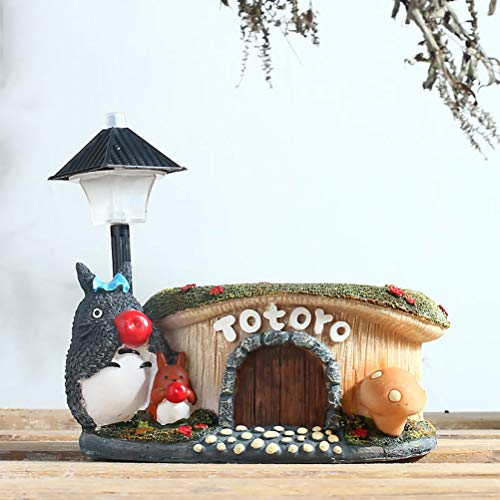 HUANXI Studio Ghibli Totoro luz de Noche Creativa Maceta de Navidad hogar Decorativo nios Regalo Juguete sueo Estrella lmpara,01