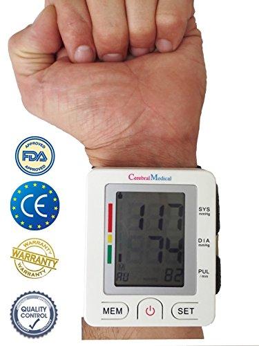 Bracelet numérique Tensiomètre-Lectures précises de la pression du sang, Moniteur normale et...
